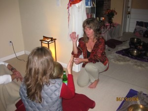 Renee Lebeau sound healing sessions