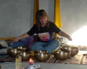 Renee Lebeau tibetan bowls